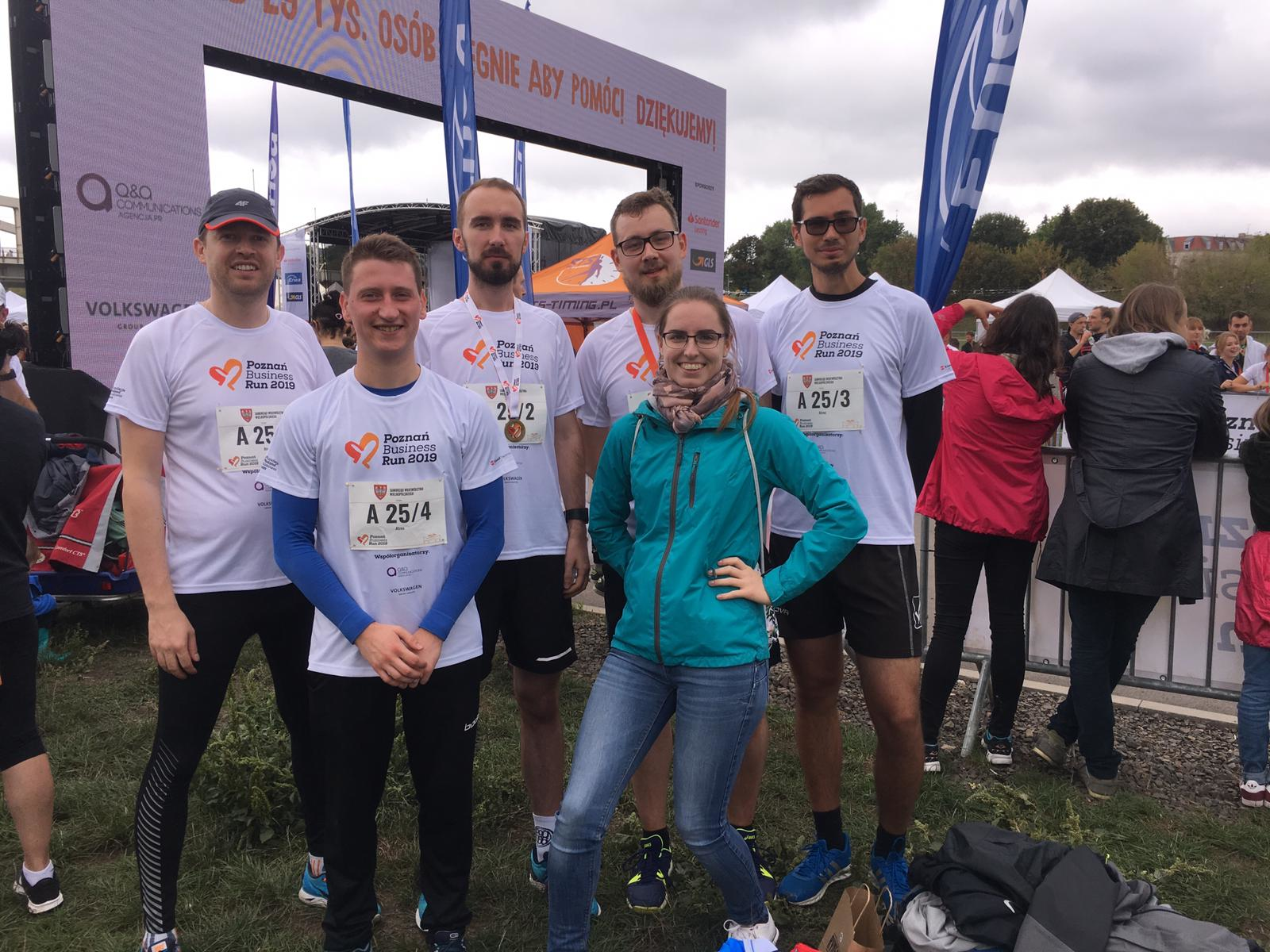 Business run 2019 druzyna firmy Atres